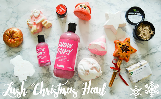 Lush Christmas Haul Blogger 2015