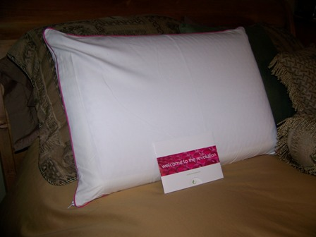 but now ive found the comfort revolution hydraluxe cooling gel pillow say that three times really fast - Comfort Revolution Pillow