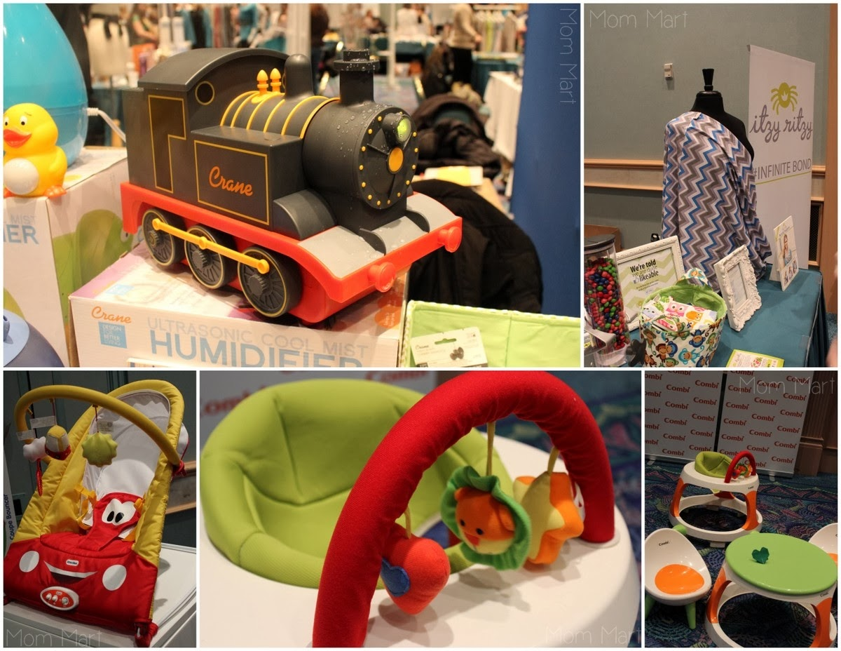 2014 #MommyCon #MommyConChicago Products #Crane #ItzyRitzy #LittleTikes #Diono #Combi