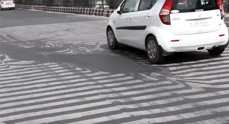 Bad Roads in India India's Heat Wave is so Bad