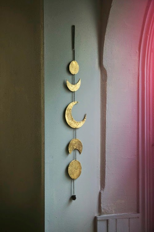 phases of the moon wall hanging - free people