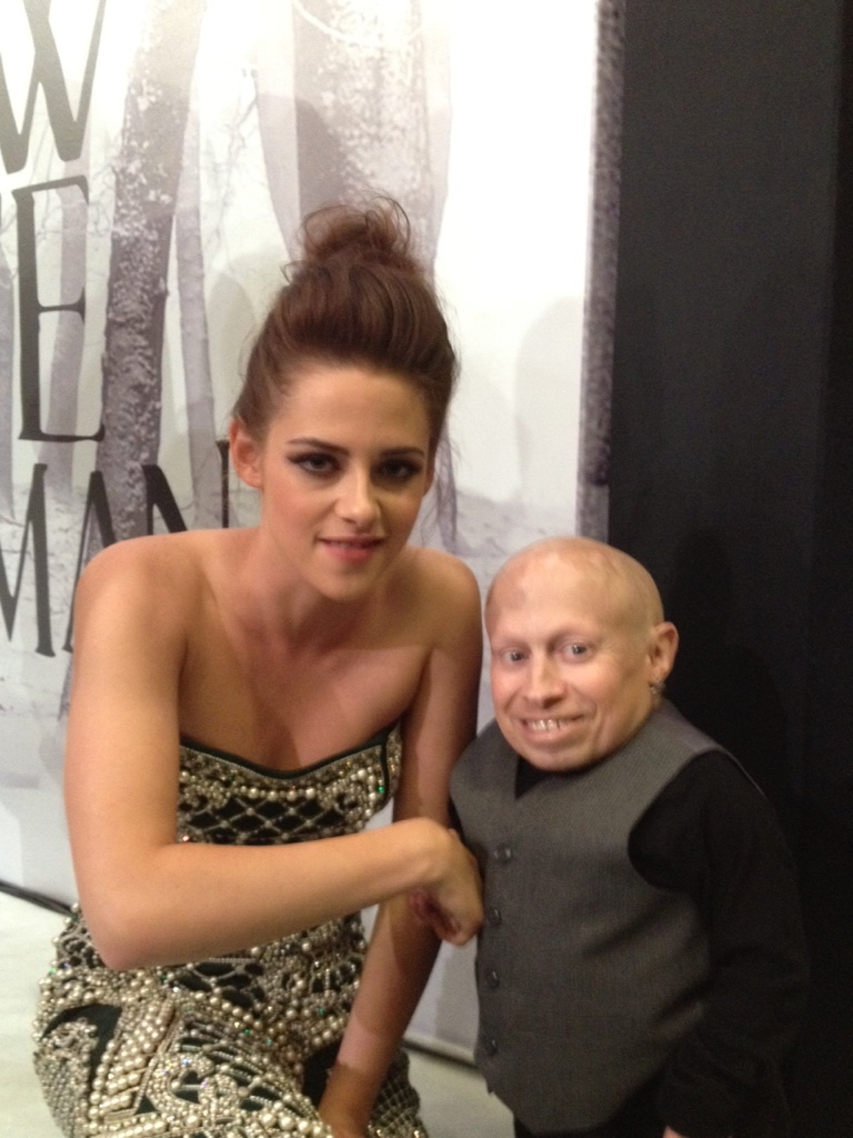 verne troyer with girls