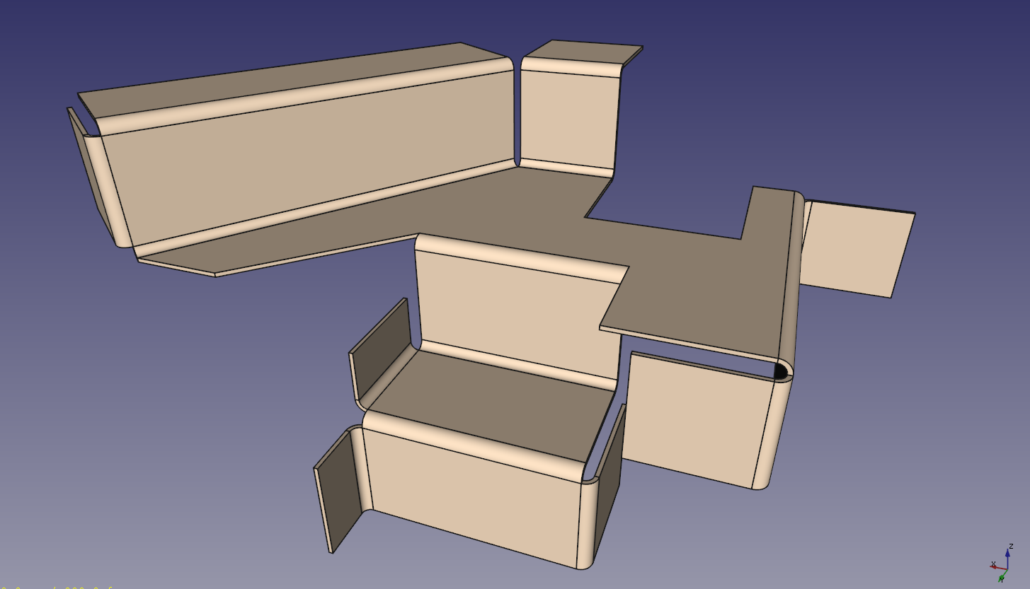 Linux For An Engineer Freecad Sheet Metal Update 1