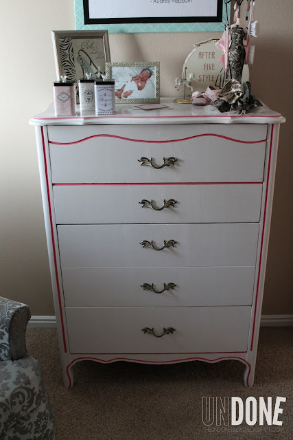 {The UNDONE Blog} Vintage dresser revamp