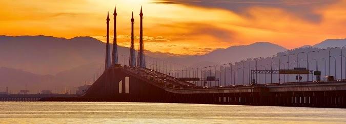 Tempat Wisata di Penang Malaysia Penang Bridge
