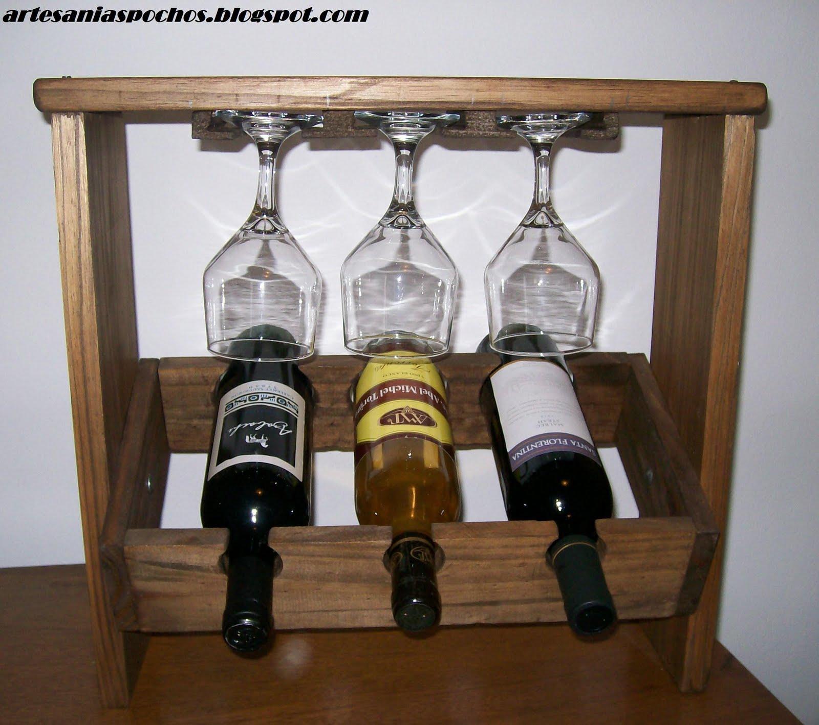 Artesanias pochos vinoteca - Vinotecas de madera ...