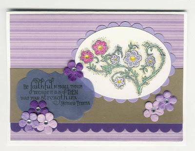 "ODBD ""Faith"", ""Be Joyful"" Designer Melanie W"