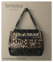 Miche Bag Tereasa Shell, Leopard Purse