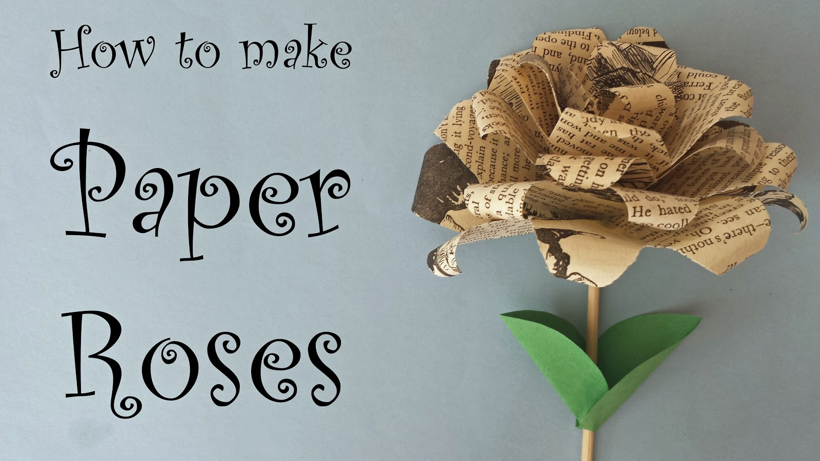 The skillful bee paper roses from old book pages cut several squares of paper from the book pages you can make your roses more or less dense depending on how many layers of petals you create mightylinksfo