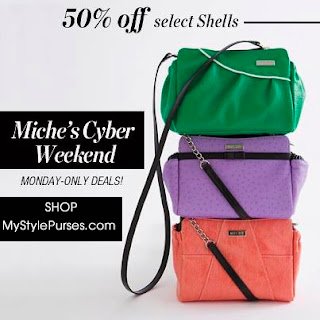 Shop Miche Cyber Monday Half Price Sales Event - ENDS midnight 11/26/12