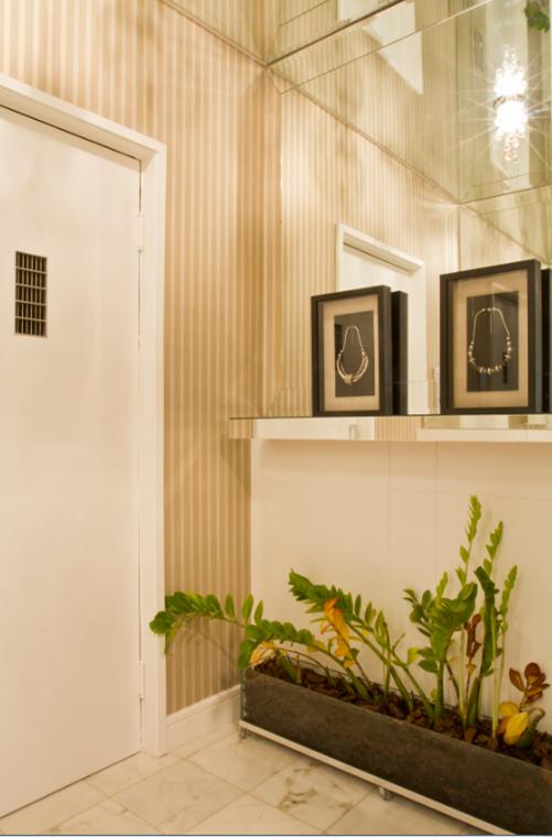 Aparador Matriz Jader Almeida ~ Hiper Básico Camila Klein hall, living e sala de jantar em estilo clean