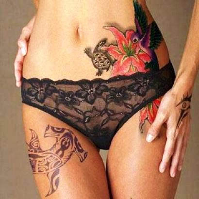 female body tattoos