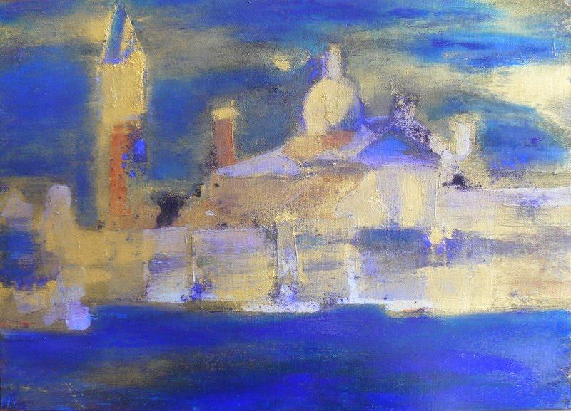 Nuit sur San Giorgio Maggiore
