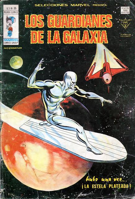 Portada de los Guardianes de la Galaxia-Selecciones Marvel Volumen 1 Nº 35 Ediciones Vértice