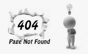 Professional 404 Error Page