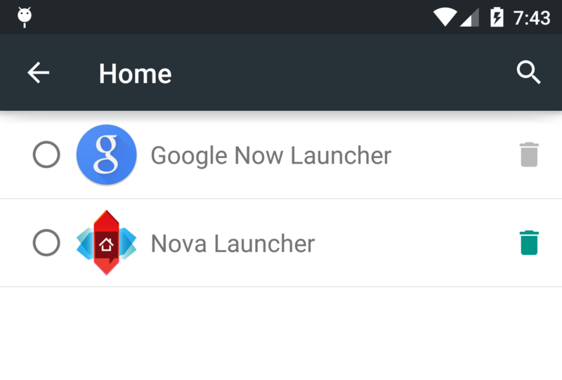 Android Lollipop Launcher – How to Change Default