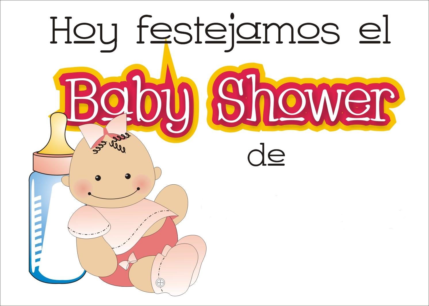 Tutorial de Artesanías: Carteles para Baby Shower