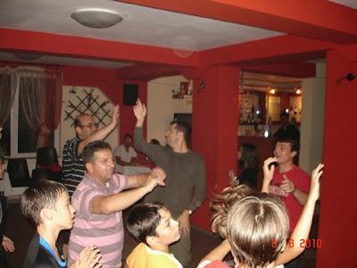 parinti si copii in cantonament la Straja