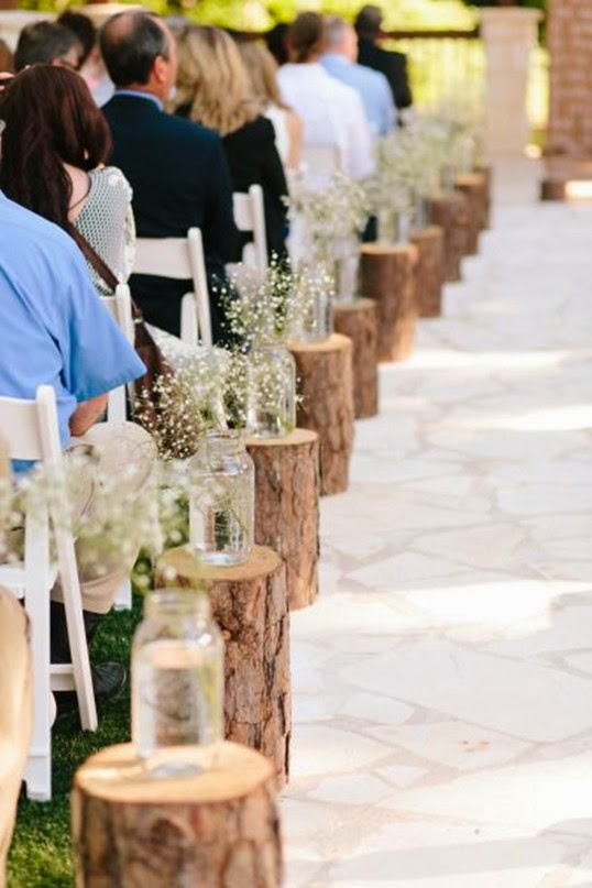 Wedding ideas blog lisawola unique rustic wedding for Country wedding reception decorations