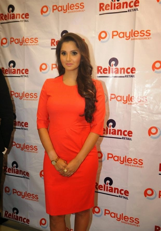 Sania Mirza at Payless Shoe Store launch Stills