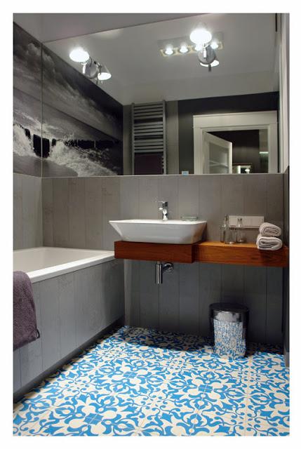 Un baño diferente y muy interesante
