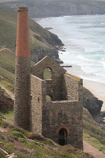 Cornish Tin Mine near St Agnes