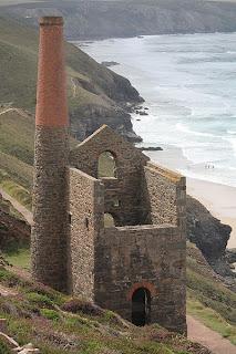Cornish Tin Mine near St Agnes