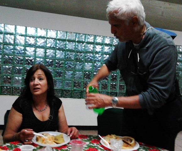 En la  cena navideña del Mukumbarila