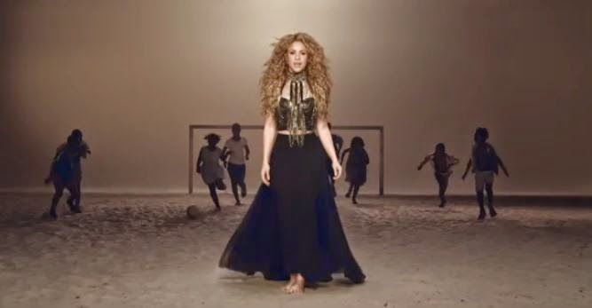 Shakira La La La Brazil 2014