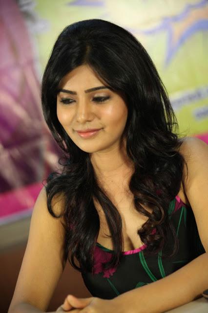 Samantha Latest Stills At Jabardasth Movie Press Meet