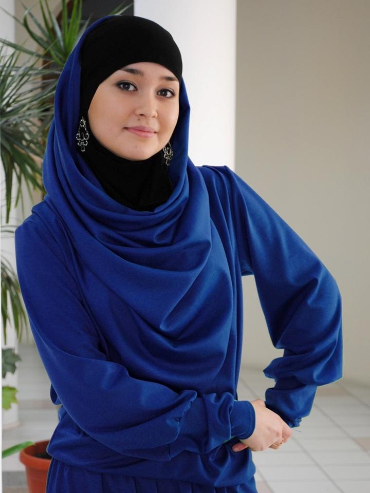 Moderne hoofddoek
