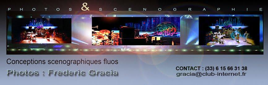frederic Gracia scenographie et photos concerts