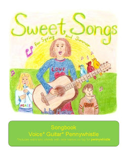 SALE! Sweet Songs for Spring and Summer Songbook and Mp3s