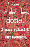 Nie som co som urobila, ale co som prekonala