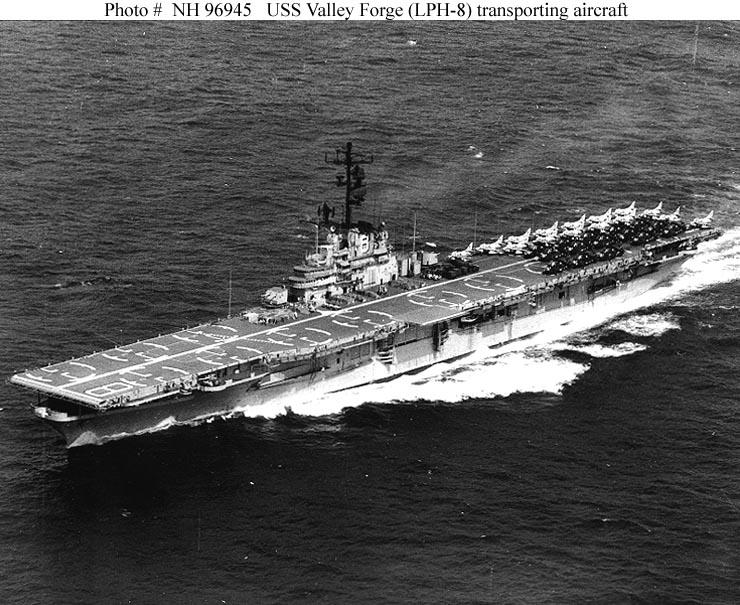 naval warfare blog  uss valley forge  cv