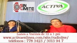 SIN LIMITE RADIO POR ACTIVA 107.1 FM