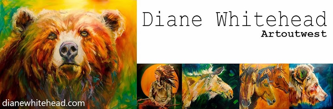 Diane Whitehead - Art Out West - Not a Painting a Day