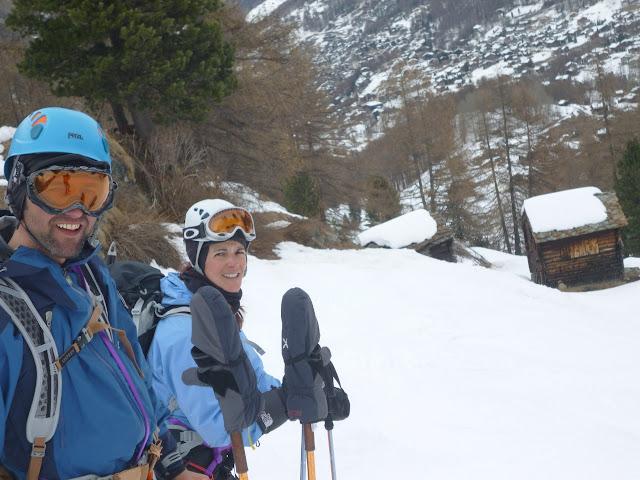 Travesia esqui chamonix-Zermatt: Cabane des Vignettes-Zermatt