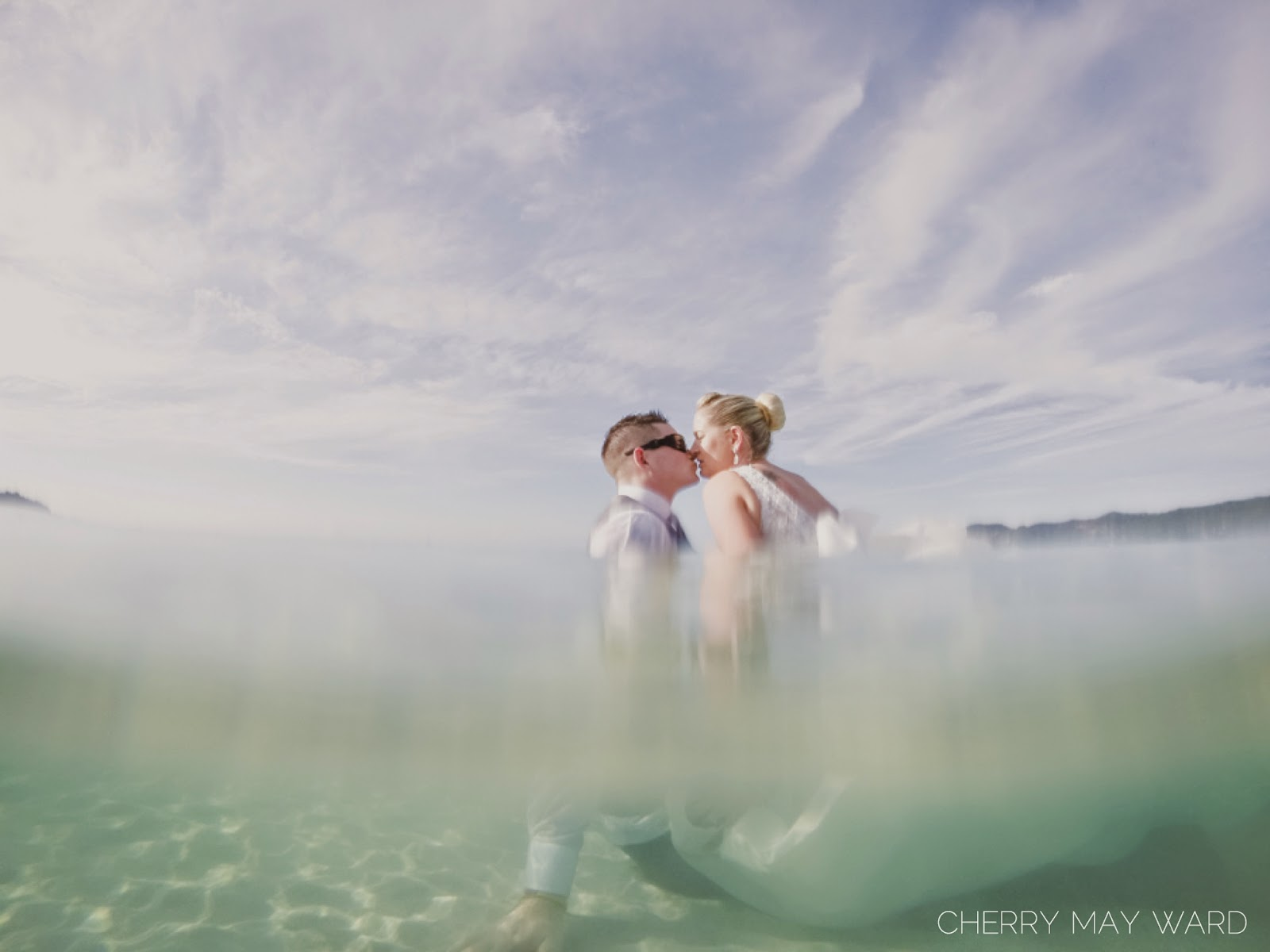 bride and groom trash the dress post wedding on Koh Samui, Thailand