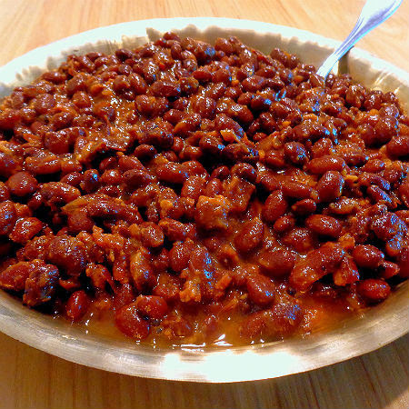 ... Beans, Biscuits and Bread Part Three - My Favorite Maple Baked Beans