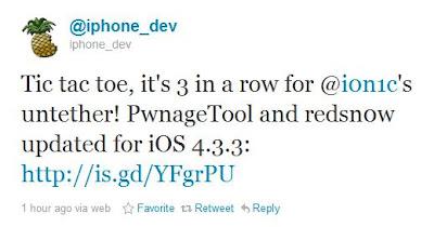 Untethered Jailbreak für iOS 4.3.3 ist erschienen