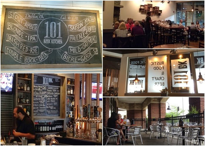 The 614orty-Niner: Happily Stuck on 101: 101 Beer Kitchen