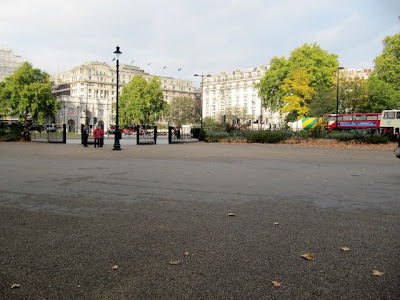 Speakers' Corner looking towards Marble Arch