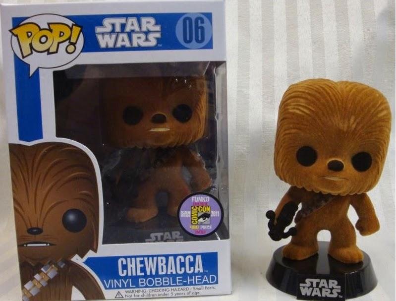 Funko Pop! Chewbacca Flocked
