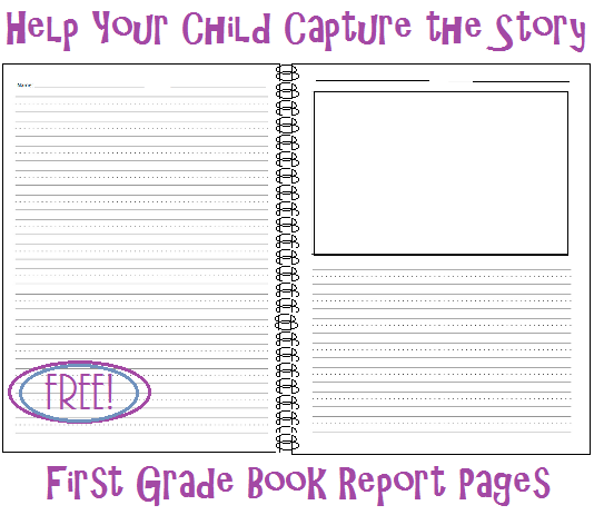 Great idea! Printable book report template for kids... free printables ...