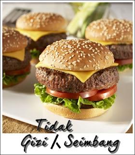 Gizi atau pemakanan yang tidak seimbang hanya mengandungi kelas makanan tertentu dan kurang berkhasiat