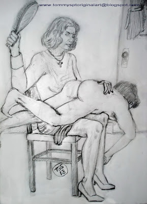 auntie-spanking-boy-artwork-sex-nud-karina-kapur
