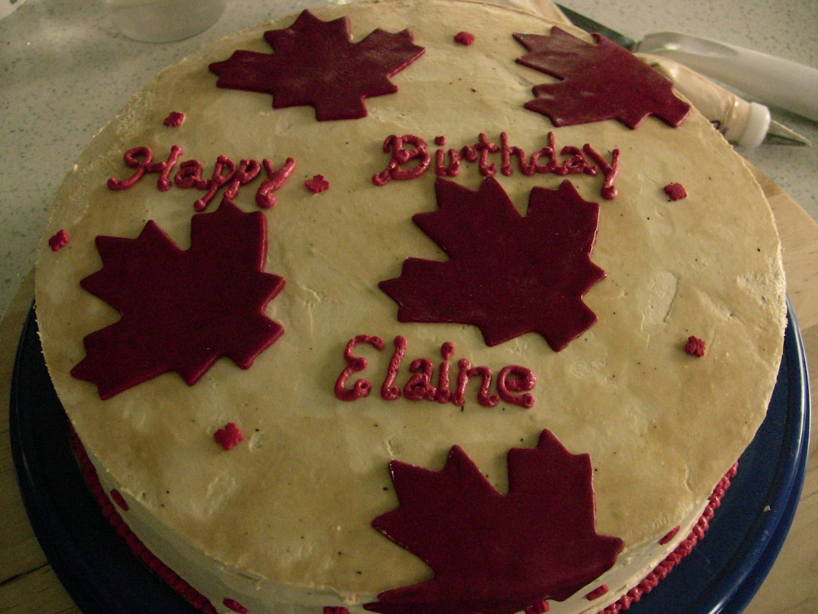 Birthday Cake Images For Cousin Sister : Happy Birthday Canada, Elaine, and Ferric