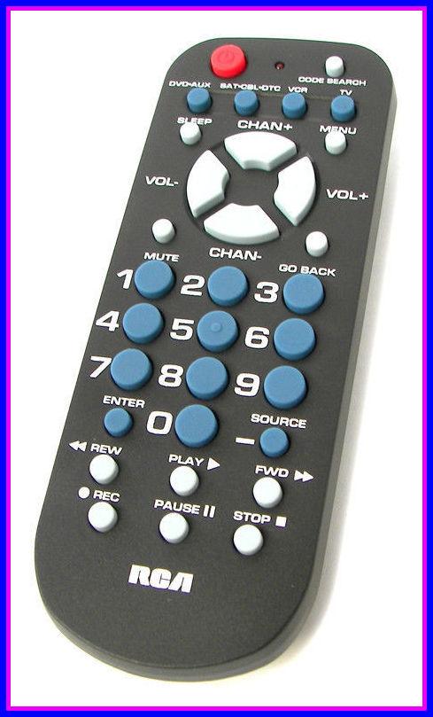 Electronic Equipment Repair Centre Rca Rcr 804 4 In 1 Universal