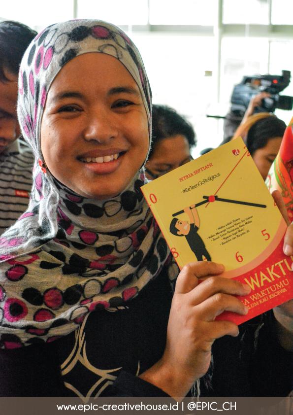 Hadiah buat peserta yang aktif bertanya
